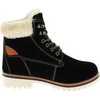 Chaussures Femme Boots Alpes Vertigo Castro noir mid l Noir