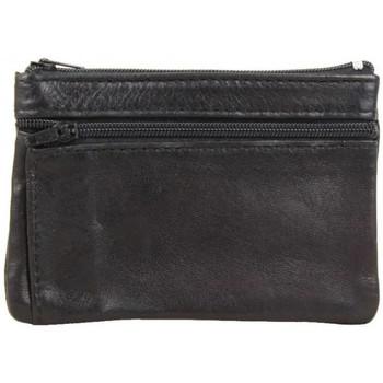 Sacs Homme Porte-monnaie A Découvrir ! Porte monnaie extra plat en cuir (1s) Noir Multicolor