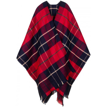 Vêtements Femme Gilets / Cardigans Qualicoq Poncho Tayside rouge