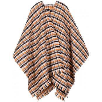 Vêtements Femme Gilets / Cardigans Qualicoq Poncho Talia Orange