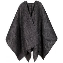 Vêtements Femme Gilets / Cardigans Qualicoq Poncho Dundee Noir