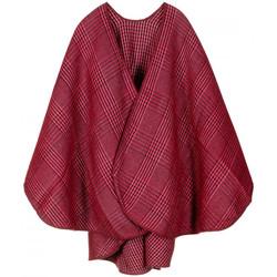 Vêtements Femme Gilets / Cardigans Qualicoq Poncho Dundee Rouge
