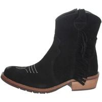 Chaussures Fille Boots Carrots TX185 Noir