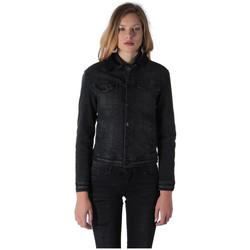 Vêtements Femme Vestes en jean Kaporal Veste Jean Femme Vamp Old black Noir