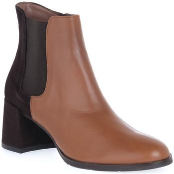Chaussures Femme Bottines Priv Lab VITELLO CUOIO Marrone