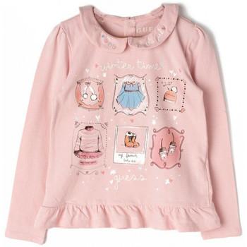Vêtements Enfant T-shirts manches longues Guess T-shirt Fille K84I15 Rose (rft)