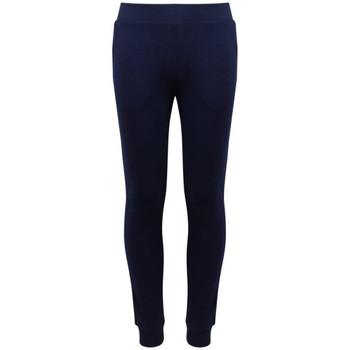 Vêtements Enfant Pantalons de survêtement Guess Pantalon de Jogging fille J83Q26 Bleu Navy (rft)