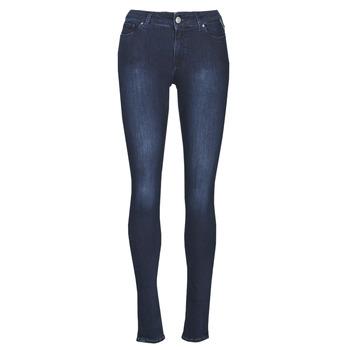 Vêtements Femme Jeans skinny Replay NEW LUZ Bleu Foncé