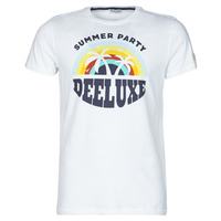 Vêtements Homme T-shirts manches courtes Deeluxe PARTY Blanc/Multicolore