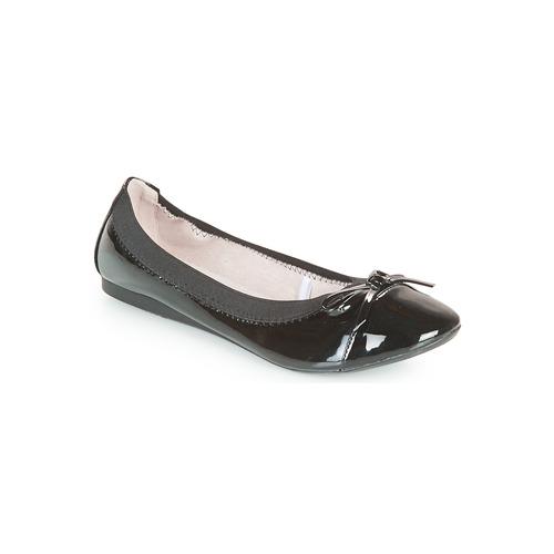 Chaussures Femme Ballerines / babies Moony Mood ELALA Vernis noir