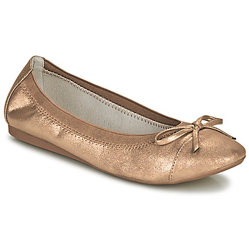 Chaussures Femme Ballerines / babies Moony Mood ELALA Bronze