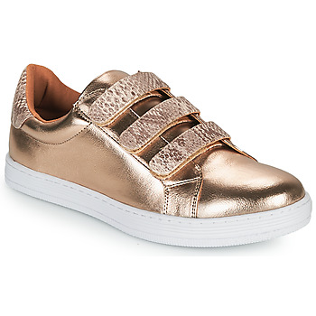 Chaussures Femme Baskets basses Moony Mood OCHIC Or
