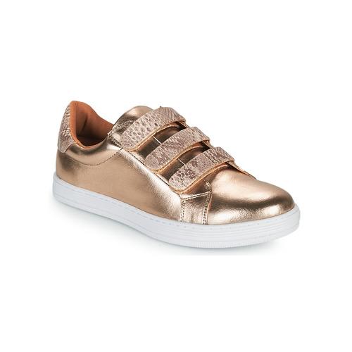 Chaussures Femme Baskets basses Moony Mood OCHIC Doré
