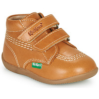 Chaussures Garçon Baskets montantes Kickers BILLY VELK-2 Camel