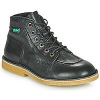Chaussures Garçon Boots Kickers KICK LEGEND Noir