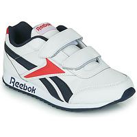 Chaussures Enfant Baskets basses Reebok Classic REEBOK ROYAL CLJOG 2 2V Blanc / Marine / Rouge