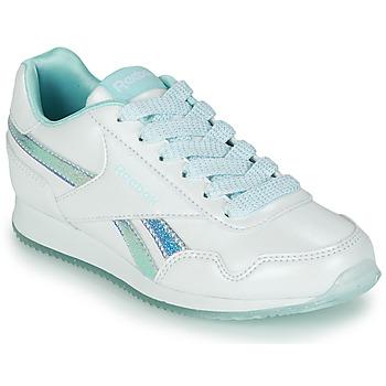 Chaussures Fille Baskets basses Reebok Classic REEBOK ROYAL CLJOG 3.0 Blanc / Bleu