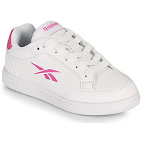 Chaussures Fille Baskets basses Reebok Classic REEBOK ROYAL VECTOR SMASH Blanc / Rose
