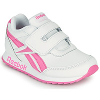 Chaussures Fille Baskets basses Reebok Classic REEBOK ROYAL CLJOG 2 KC Blanc / Rose