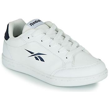 Chaussures Enfant Baskets basses Reebok Classic REEBOK ROYAL VECTOR SMASH Blanc / Bleu