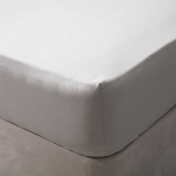 Maison & Déco Draps housse Belledorm Superking Gris