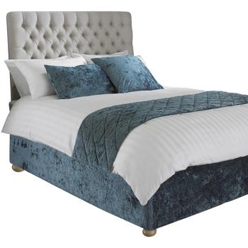 Maison & Déco Parures de lit Riva Home Lit King Size Sarcelle