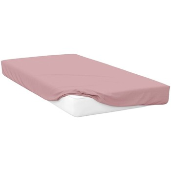 Maison & Déco Draps housse Belledorm Superking Rose pale