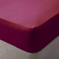 Maison & Déco Draps housse Belledorm Superking Rouge