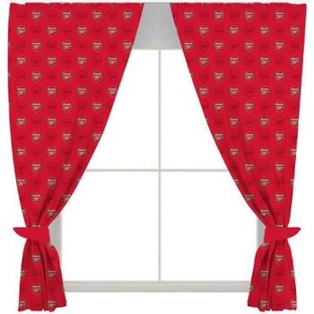 Maison & Déco Rideaux, voilages, stores Arsenal Fc Taille unique Rouge