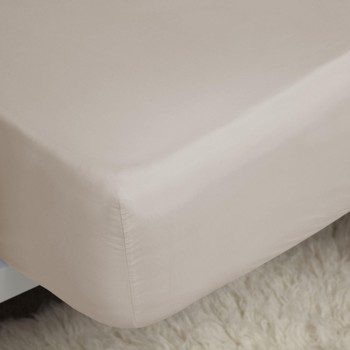 Maison & Déco Draps housse Belledorm Single Oyster