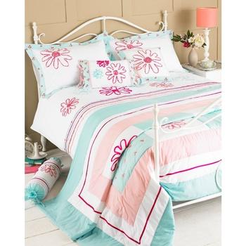 Maison & Déco Parures de lit Riva Home 240 x 260 cm Vert/Rose
