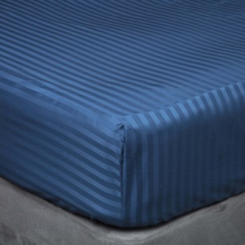 Maison & Déco Draps housse Belledorm Double Bleu marine