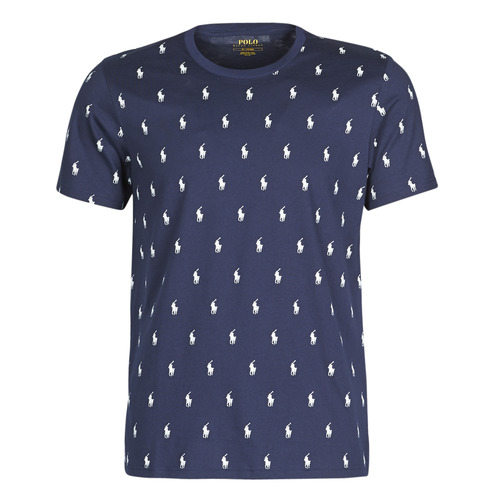 Vêtements Homme T-shirts manches courtes Polo Ralph Lauren CRUISE ALL OVER Marine