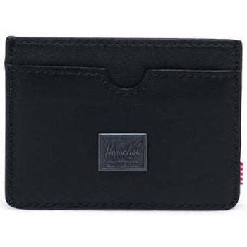Sacs Portefeuilles Herschel Charlie Leather RFID Black