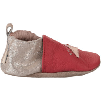 Chaussures Fille Chaussons bébés Robeez Chaussons fille -  - Rose fushia - 19+ ROSE