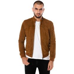 Vêtements Homme Vestes en cuir / synthétiques Cityzen TENERIFE COGNAC Cognac