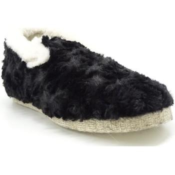 Chaussures Femme Chaussons Maison De Lespadrille F104F NOIR