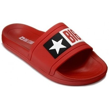 Chaussures Femme Claquettes Big Star DD274A267 Rouge