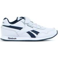 Chaussures Enfant Baskets basses Reebok Sport Royal CL Jogger Blanc, Bleu marine