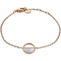 Montres & Bijoux Femme Bracelets Skagen Bracelet  Elin acier rose nacre Rose