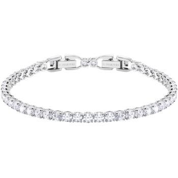 Montres & Bijoux Femme Bracelets Swarovski Bracelet  Tennis Blanc