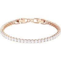 Montres & Bijoux Femme Bracelets Swarovski Bracelet  Tennis Deluxe Rose