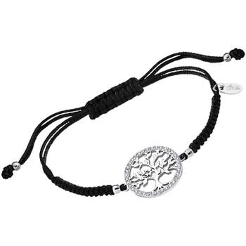 Montres & Bijoux Femme Bracelets Lotus Bracelet  Silver Collection Family Tree Cordon Blanc