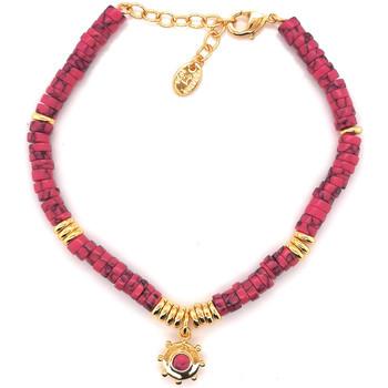 Montres & Bijoux Femme Bracelets Agatha Ruiz de la Prada Bracelet souple  BAIA - Fuchsia - Doré Jaune