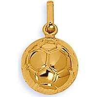 Montres & Bijoux Femme Pendentifs Brillaxis Pendentif ballon de foot or jaune 18 carats Jaune