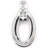 Montres & Bijoux Femme Pendentifs Brillaxis Pendentif  en or 18 carats avec diamants Blanc