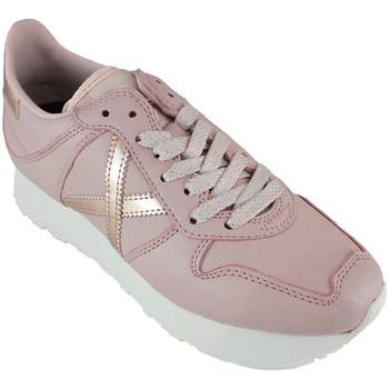 Chaussures Femme Baskets basses Munich massana sky 8810104 Rose