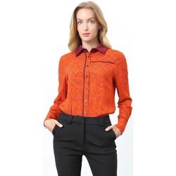 Vêtements Femme Chemises / Chemisiers Smart & Joy Cuivre Cuivre