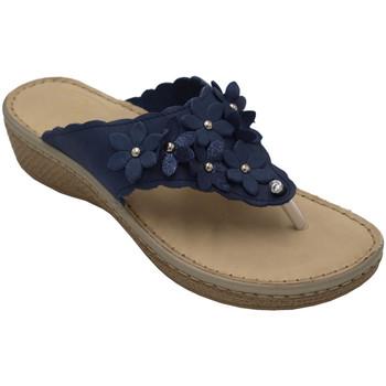 Chaussures Femme Sandales et Nu-pieds Fly Flot AFLYFLOT21C75blu beige