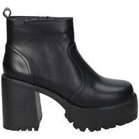 Chaussures Femme Bottines Emmshu BOTINES  BRAT MODA JOVEN BLACK Noir